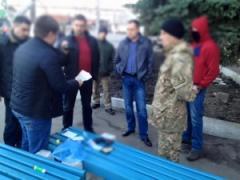 На Луганщине за получение взятки задержан начальник одного из управлений полиции