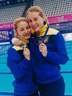 Луганчанки завоювали срібло чемпіонату Європи з водних видів спорту
