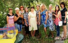 60 лет юннатовскому движению в Северодонецке