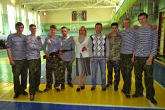 В Северодонецком ВПУ закаляют будущих защитников Украины