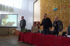 Сергій Жадан із друзями в Сєвєродонецьку