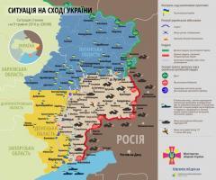 На Луганському напрямку незаконні збройні формування порушили режим тиші 1 раз