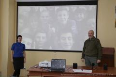 Тука поспілкувався зі школярами-переселенцями з Луганської області, які навчаються у Литві