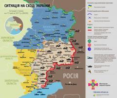 На Луганському напрямку бойовики тричі відкривали вогонь у бік українських позицій
