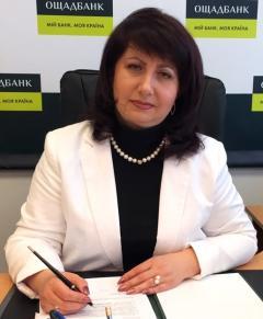 Ірина БОНДАР: «Пройти ідентифікацію можна в будь-якому відділенні Ощадбанку»