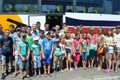 Юні луганчани поїхали відкривати «Олімпійську зміну»