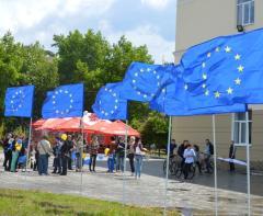 Северодончане впервые праздновали День Европы