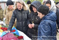 В Сєвєродонецьку поховали померлого від тяжкої хвороби бійця АТО