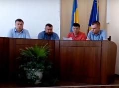 Щотижнева апаратна нарада під головуванням в.о. міського голови Зарецького С.В.