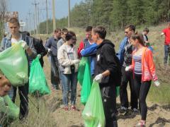 Студенти СНУ ім. В.Даля приєдналися до наймасштабнішого прибирання країни