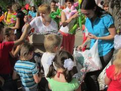 1 червня – День захисту дітей – відзначали співробітники  системи Пенсійного фонду України в Луганській області