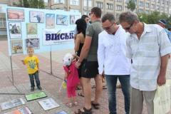 На Луганщине прошла выставка карикатур