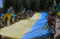 Лисичанск отпраздновал годовщину освобождения от незаконных вооруженных формирований
