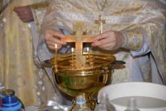 Освящение воды в храмах г. Северодонецка