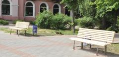Новые скамейки украсили Северодонецк