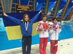 Спортсменка Луганщини стала срібною призеркою світової першості зі стрибків у воду серед юніорів