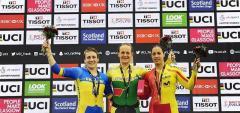 Любов Басова завоювала два срібла на світовій першості з велотреку